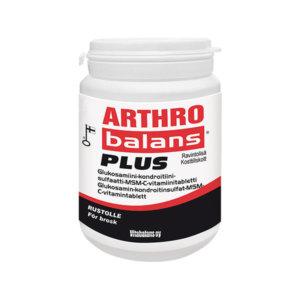 Nivelille ja rustoille Arthrobalans Plus.
