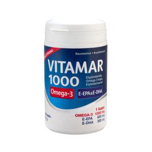Vahva kalaöljykapseli Vitamar 1000.